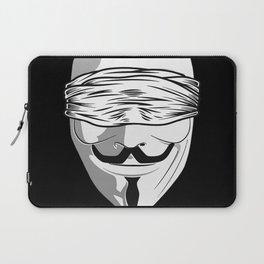 Society Covered Eyes Laptop Sleeve