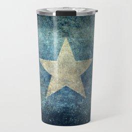 Somalian national flag - Vintage version Travel Mug