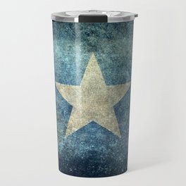 Somalian national flag - Vintage version Travel Mug