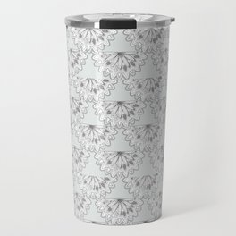 Vintage Scalloped Travel Mug