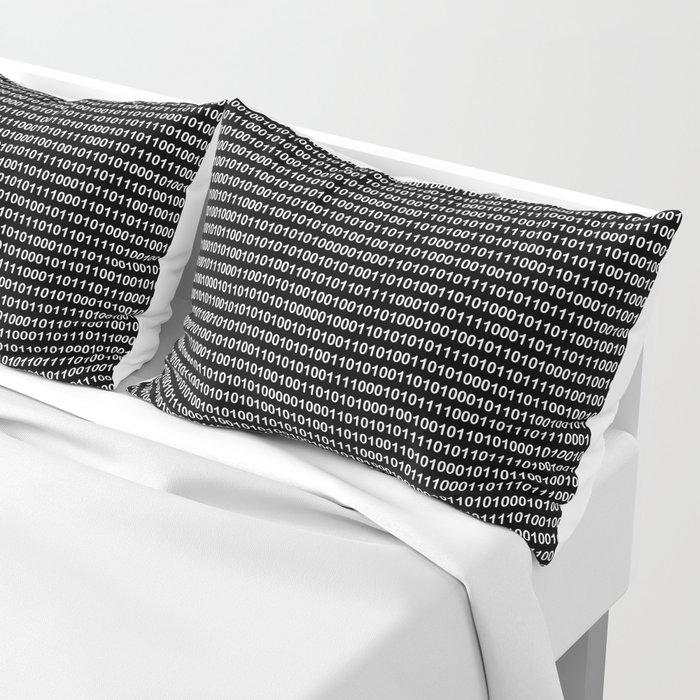 Binary Code in DOS Pillow Sham