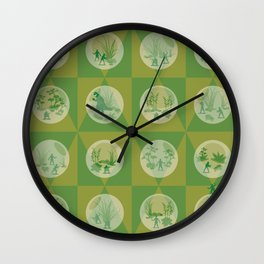 yippee-ki-yay Wall Clock