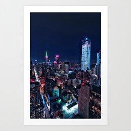 R / NYC / 12 Art Print