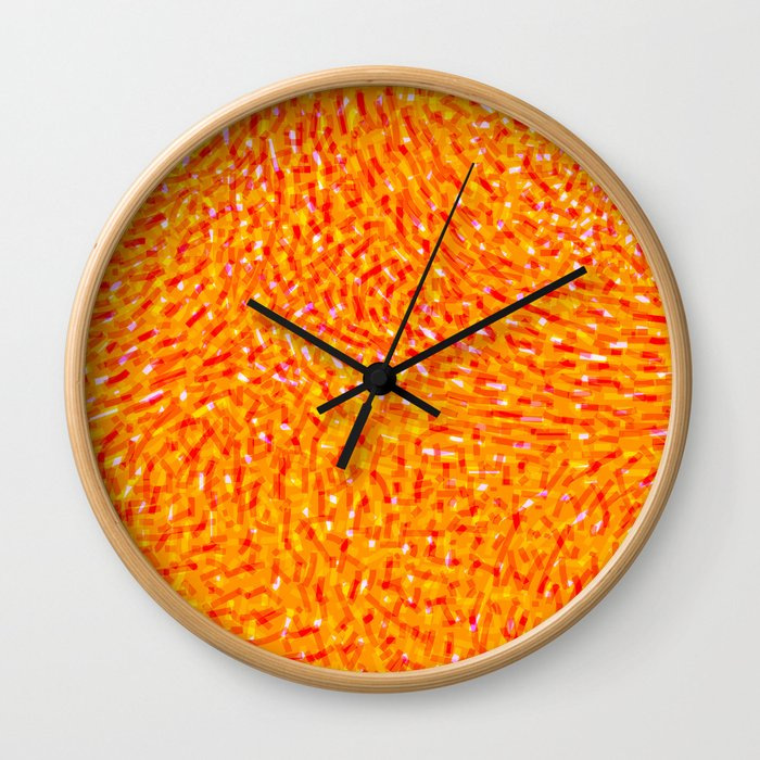 Surreal Garden nº 21 Wall Clock
