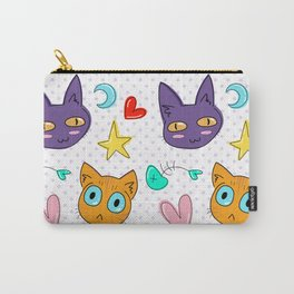Cosmic Kitties Carry-All Pouch