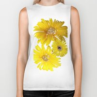 daisies Biker Tanks featuring Daisies by Regan's World