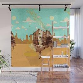 CITY PIANO Wall Mural