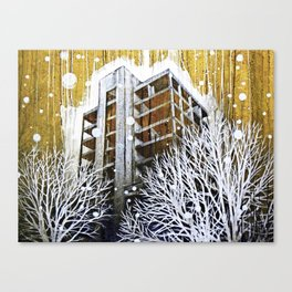 """""""The Fortress"""" Canvas Print"""