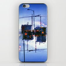 America ducking the question of origins (35mm multiple exposure) iPhone & iPod Skin