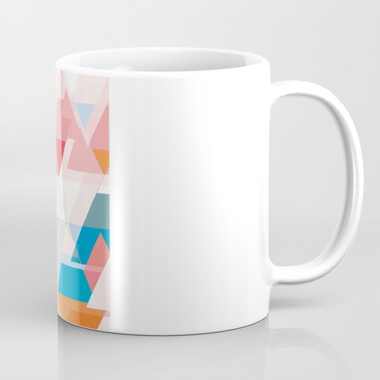 Crumbling triangles Mug
