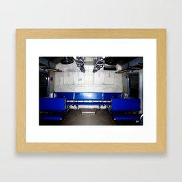 Mumbai Crowds - V T Station - 5 Framed Art Print