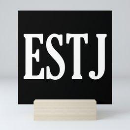 ESTJ Personality Type Mini Art Print