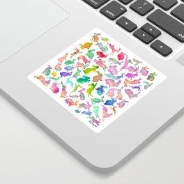 Watercolour Bunnies Sticker