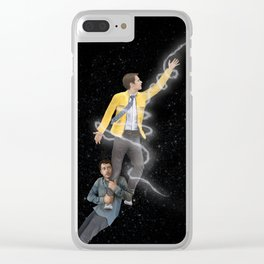 Dirk Gently ICARUS Original Art Poster Clear iPhone Case