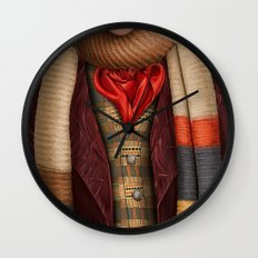 The Fourth Doctor Wall Clock