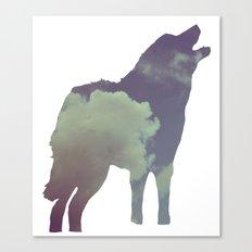 The Wolf (Jannika Edition) Canvas Print