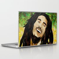 marley Laptop & iPad Skins featuring Marley Collage by Emily Harris