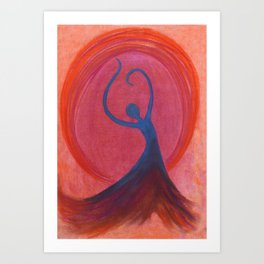 Sovereign Dance Art Print