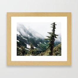 Cascade Pass Framed Art Print