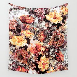 RPE FLORAL ABSTRACT Wall Tapestry