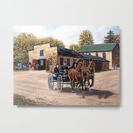 Blacksmith Shop Metal Print