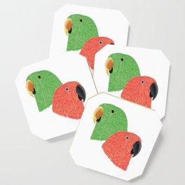 Eclectus Parrots Coaster
