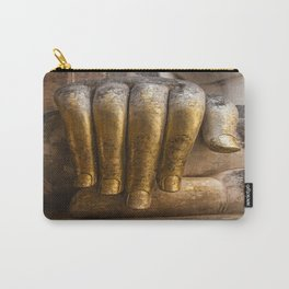 Golden Hand of a Buddha in Wat Sri Chum Thailand Carry-All Pouch