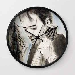 Jeff Buckley Wall Clock