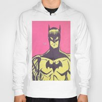 bats Hoodies featuring Bats by Michael Fitzgerald Troy