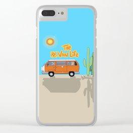 The Van Life (Desert Vers.) Clear iPhone Case