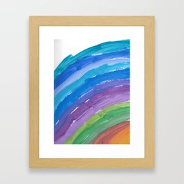 The Chance Watercolor Framed Art Print