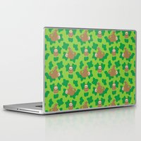 stanley kubrick Laptop & iPad Skins featuring Stanley Sloth by Joanne Paynter