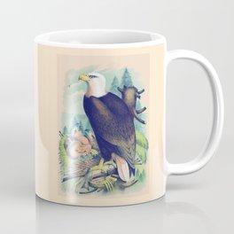 Vintage Bald Eagle Coffee Mug