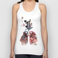 lungs Tank Tops featuring Lungs by La Scarlatte