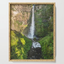 Multnomah Falls Oregon Serving Tray