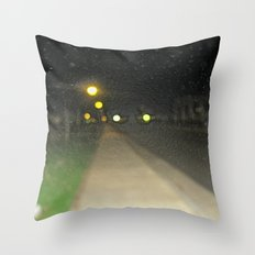 The Rain Out There Throw Pillow