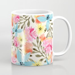 Paradise Floral Print Coffee Mug