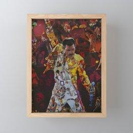 queen collega Framed Mini Art Print