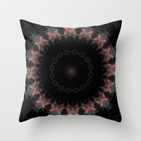 halo Throw Pillows featuring Halo by Silentwolf