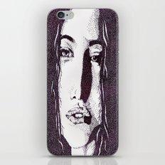 ??? Girl iPhone Skin