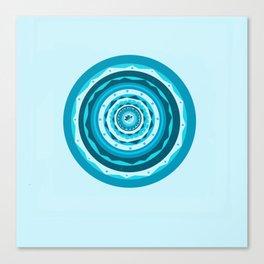 Mandala Lotus Flower Sophie Canvas Print