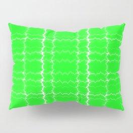 jagged, green Pillow Sham