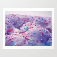 sprinkles Art Prints featuring Sprinkles by J.MK