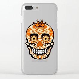 Halloween Calaveras Clear iPhone Case