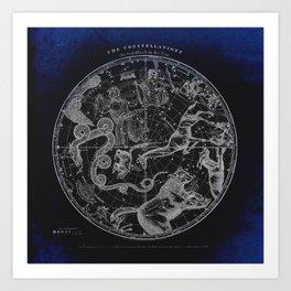 NY, Constellations Art Print