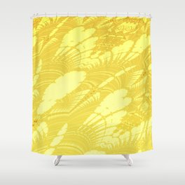 Fractal Abstract 48 Shower Curtain