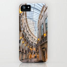 Pitt Street Mall Arcade, Sydney iPhone Case