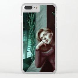 Brigid Tenenbaum Clear iPhone Case