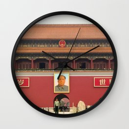 Forbidden City Southern Gate Wall Clock