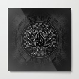 Devil's Right Hand Metal Print